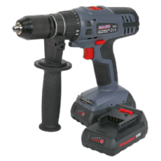 Drill/Driver Ø10mm 2-Speed 14.4V Li-ion - Body Only. CP6014